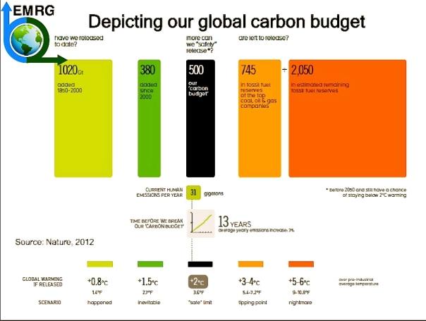 EMRG Carbon Budget
